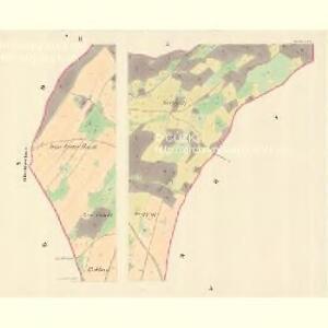 Herlsdorf (Herldowice) - m0687-1-002 - Kaiserpflichtexemplar der Landkarten des stabilen Katasters