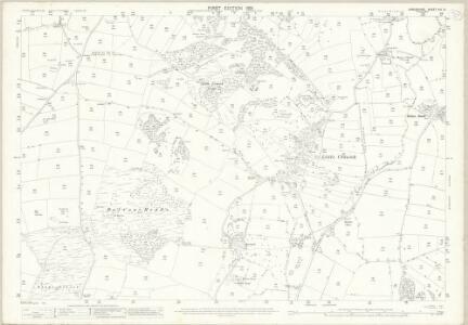Lancashire XVI.14 (includes: Aldingham; Dalton In Furness; Urswick) - 25 Inch Map