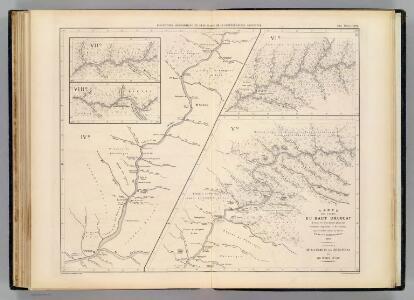 Carte, cours du Haut Uruguay, 2. flle. Uruguayana-Rio Pepiri-Guazu.