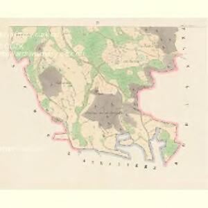 Chlistau - c2489-1-003 - Kaiserpflichtexemplar der Landkarten des stabilen Katasters