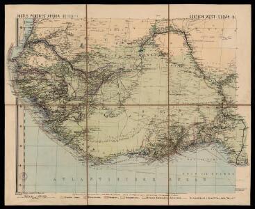 Spezial - karte von AfricaSektion West-Sudân (4)