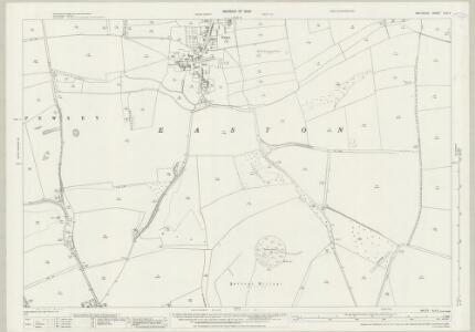 Wiltshire XLII.2 (includes: Burbage; Easton Royal; Milton Lilbourne) - 25 Inch Map