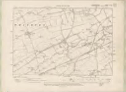 Edinburghshire Sheet X.NE - OS 6 Inch map