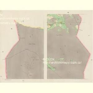 Giesshübel (Wolessnice) - c5448-1-005 - Kaiserpflichtexemplar der Landkarten des stabilen Katasters