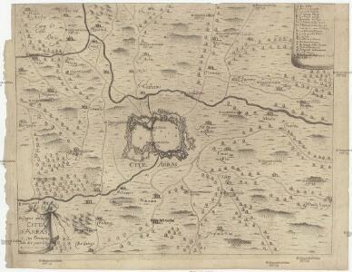Disegno della citta d'Arras e suo territorio