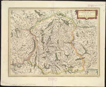 Carte du païs et duchè de Nivernois