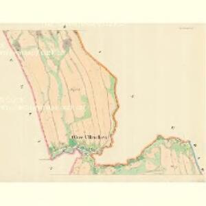 Ober Ullischen (Hornj Olessne) - m0808-1-002 - Kaiserpflichtexemplar der Landkarten des stabilen Katasters