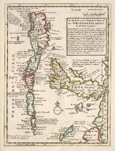 A Map of the North West part of the Western Islands / by H. Moll.