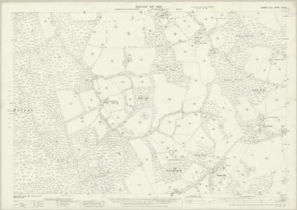 Sussex IV.14 (includes: Worth) - 25 Inch Map