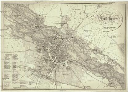 München im Jahre 1819