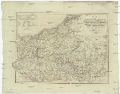 Charte von dem Gross-Herzogthümern Mecklenburg-Schwerin, und Mecklenburg-Strelitz