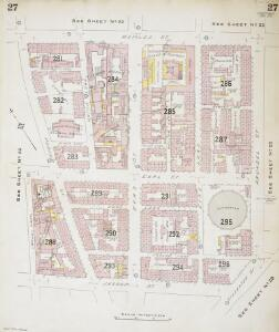 Insurance Plan of Sheffield (1896): sheet 27