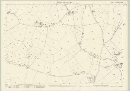 Suffolk LXIV.6 (includes: Brettenham; Preston St Mary; Thorpe Morieux) - 25 Inch Map