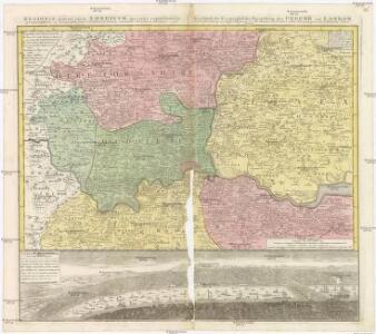 REGIONIS, qvae est circa LONDINVM, specialis repraesentatio geographica