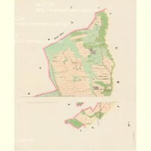 Pössigkau (Besikow) - c0146-1-001 - Kaiserpflichtexemplar der Landkarten des stabilen Katasters