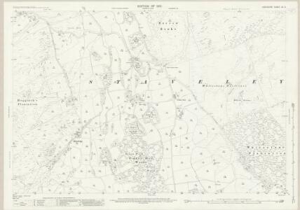 Lancashire XII.3 (includes: Haverthwaite; Staveley; Upper Allithwaite) - 25 Inch Map