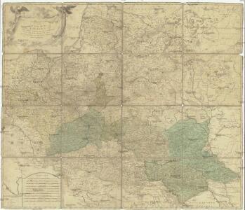 Generalkarte von Polen, Litauen und den angraenzenden Laendern