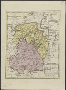 Kaart van Groningen en Drenthe