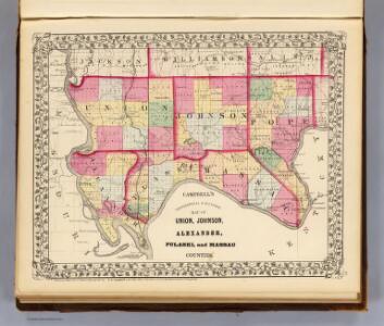 Union, Johnson, Alexander, Pulaski, Massac counties.