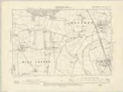 Worcestershire XLVIII.NW - OS Six-Inch Map