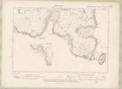 Kirkcudbrightshire Sheet LVII.NW & NE - OS 6 Inch map