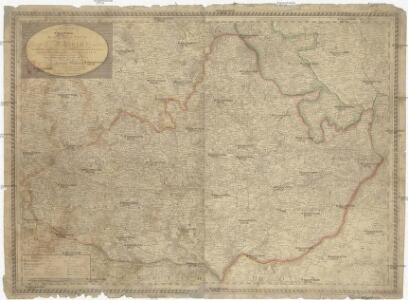 Karte des Markgrafthum Mähren