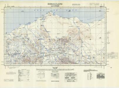 Somaliland 1:250 000, Las Dureh