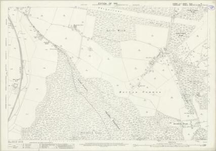 Sussex XLVII.10 (includes: Rowlands Castle; Stoughton) - 25 Inch Map