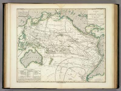 Karte vom Grossen Ocean, (Mare Pacifico).