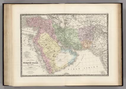 Turquie d'Asie, Perse, Arabie, Afghanistan.