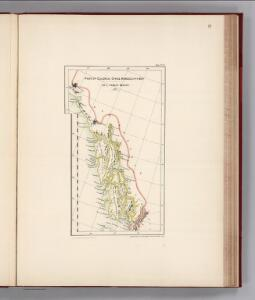 Facsimile:  Herbert's Colonial Manuscript Southern Alaska (portion).