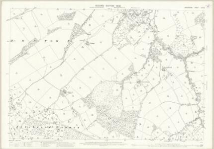 Shropshire LVII.12 (includes: Ditton Priors; Monkhopton; Upton Cressett) - 25 Inch Map