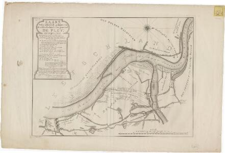 Kaart, welke afbeeld de gedaante van den Kleefschen Polder genoemd De Pley ...