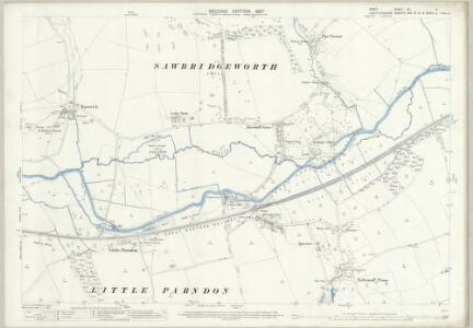 Essex (1st Ed/Rev 1862-96) XLI.5 (includes: Eastwick; Gilston; Netteswell) - 25 Inch Map