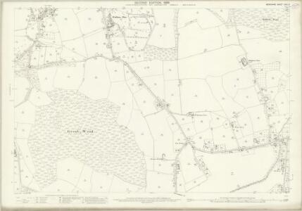 Berkshire XXXI.9 (includes: Bray; Shottesbrooke; White Waltham) - 25 Inch Map