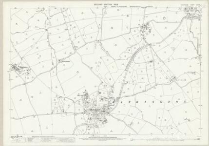 Shropshire XXXV.6 (includes: Rodington; Upton Magna; Withington) - 25 Inch Map