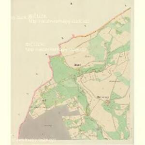 Deschney (Dessney) - c1092-1-003 - Kaiserpflichtexemplar der Landkarten des stabilen Katasters