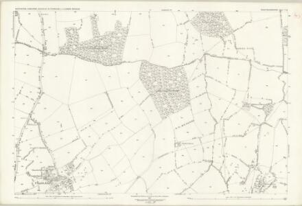 Buckinghamshire V.11 (includes: Chicheley; Emberton; Sherington) - 25 Inch Map