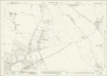Berkshire VI.13 (includes: Abingdon St Helen Without; Besselsleigh; Marcham; Wootton) - 25 Inch Map
