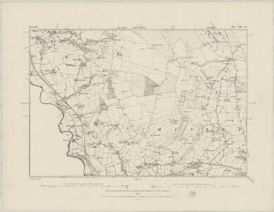 Derbyshire VIII.NW - OS Six-Inch Map
