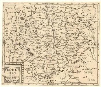 Bohemia oder das Königreich Böhmen Mitt Angretzten Ländter