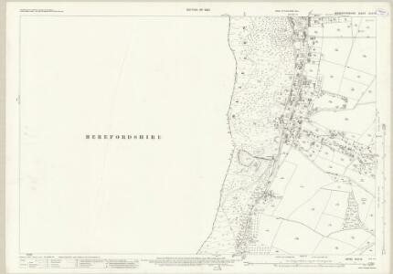Worcestershire XLVI.8 (includes: Colwall; Little Malvern; Malvern Wells; Welland) - 25 Inch Map