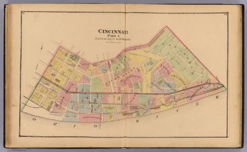 Cincinnati 5, wards 1, 3.