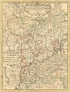 Partie Occidentale Du Temporel De L'Archevesché et Eslectorat, De Treves