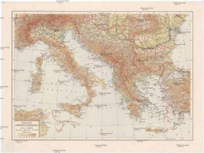 Poloostrov Apenninský a Balkánský
