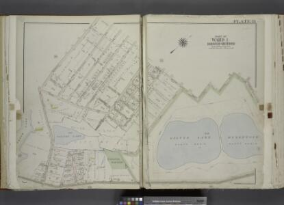 Part of Ward 1. [Map bound by Bement Ave, Harvest     Ave, Revere Ave (Laurel Ave), University PL, Greenwood Ave, Forest Ave (Barrett  Blvd), Reservoir North Basin, Richmond Turnpike, Clove Road]