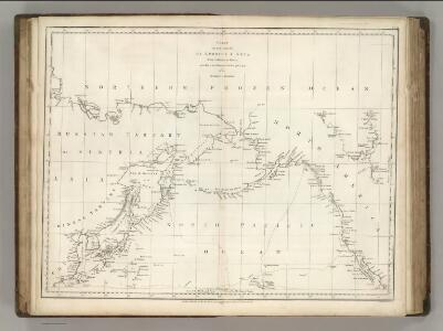 Chart of the Coasts of America and Asia.