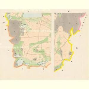 Jareschau - c2778-1-004 - Kaiserpflichtexemplar der Landkarten des stabilen Katasters