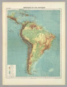 Amerique de Sud Physique.