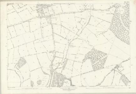 Northamptonshire LIX.12 (includes: Biddlesden; Syresham; Whitfield) - 25 Inch Map